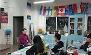 加拿大多伦多大学校友在国际班开展讲座