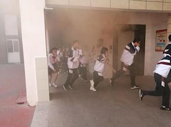 注重消防演练 建设平安校园